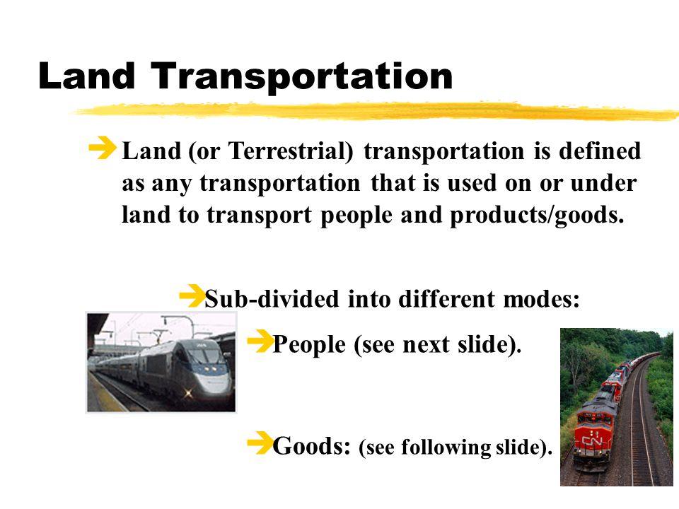 Transportation Technology Transportation Defined C  Stemmler