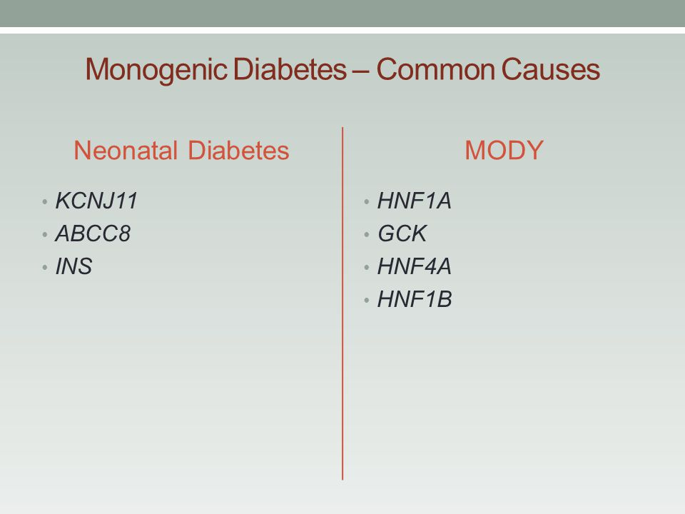 diabetes insípida gck