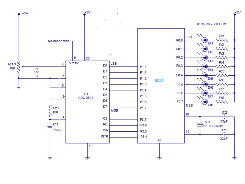 interfacing adc to ppt video online download 8051 hdl 8051 adc block diagram #10