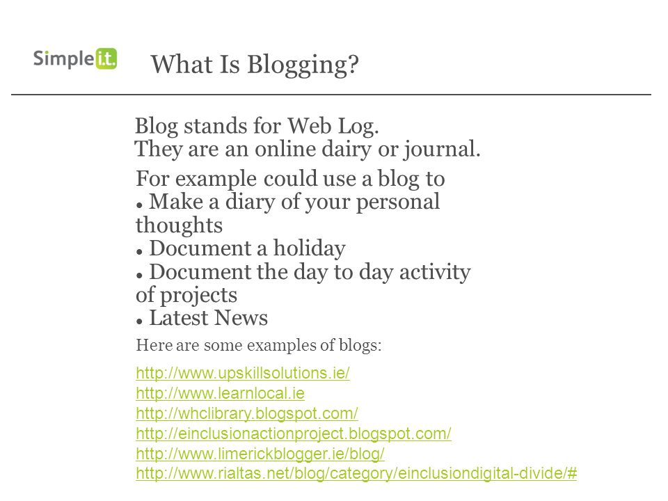 blog introduction examples