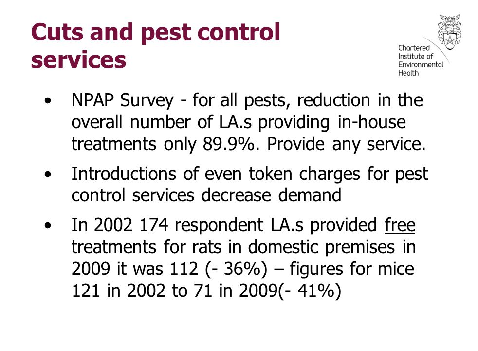 Issues for Pest Management. Dr Stephen Battersby President, CIEH. - ppt download - 웹