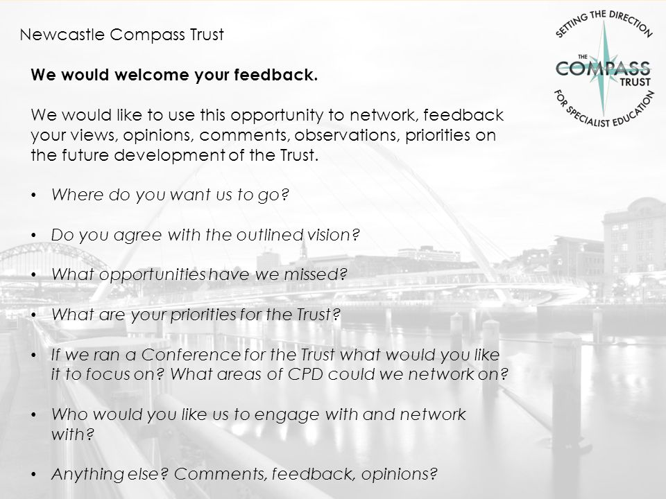 Newcastle Compass Trust ' Setting the direction for