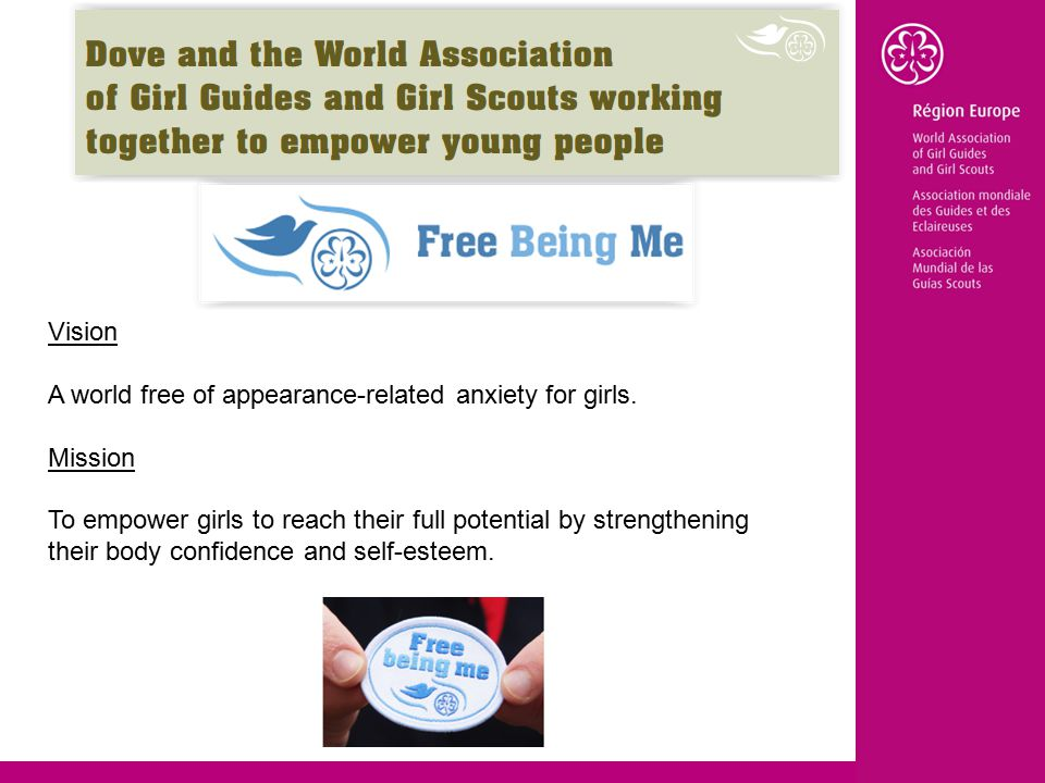 Vision A world free of appearance-related anxiety for girls.