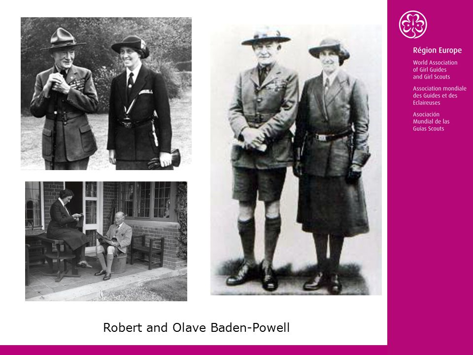 Robert and Olave Baden-Powell