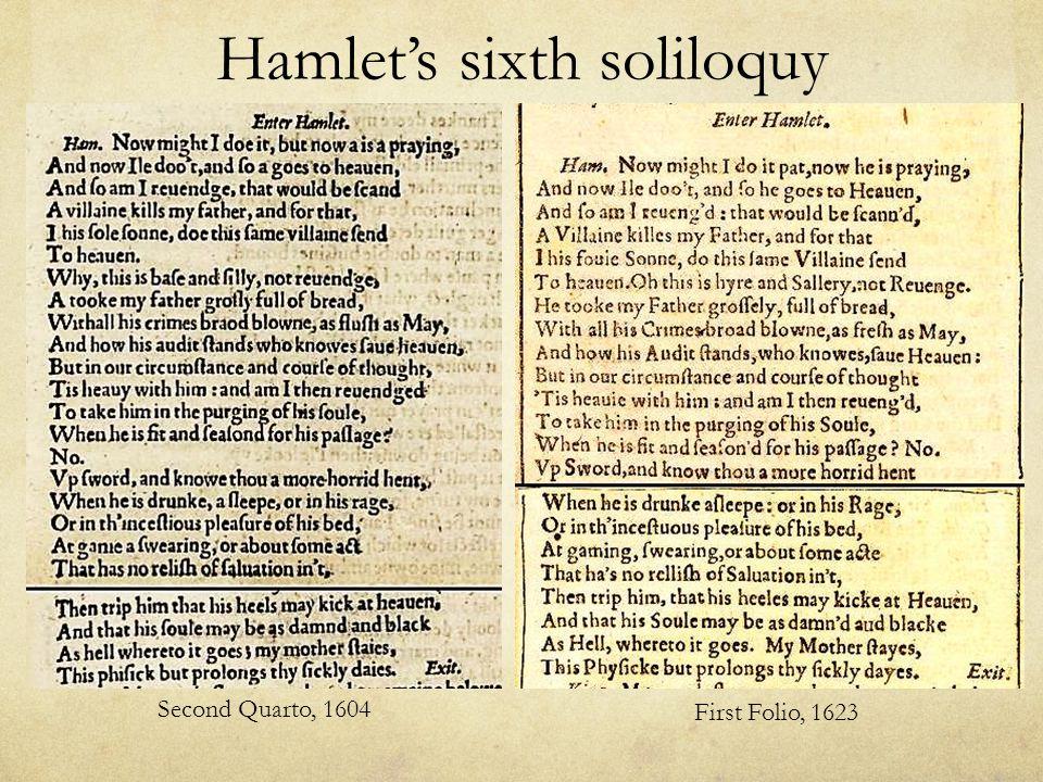 hamlets second soliloquy