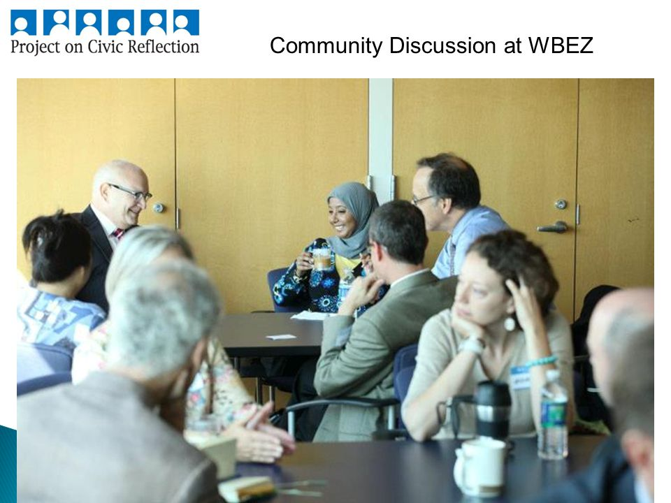 Community Discussion at WBEZ