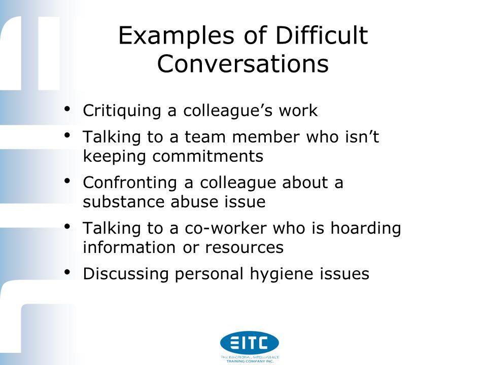 Having Difficult Conversations Using Emotional Intelligence 1