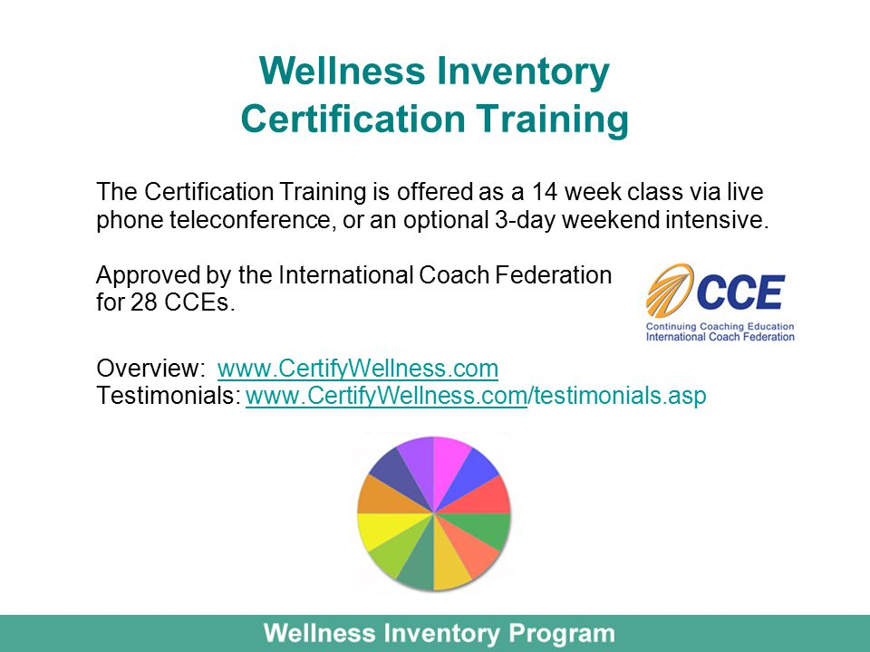 Program Overview For Health Clubs A Wellness Tool For Health Clubs