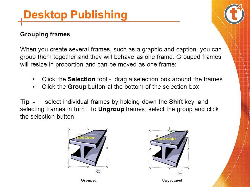 Technology ICT Core: Desktop Publishing. Desktop Publishing Desktop ...
