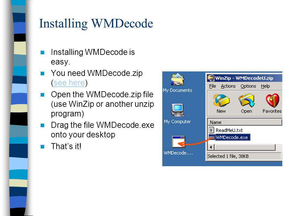 Wmdecode online dating