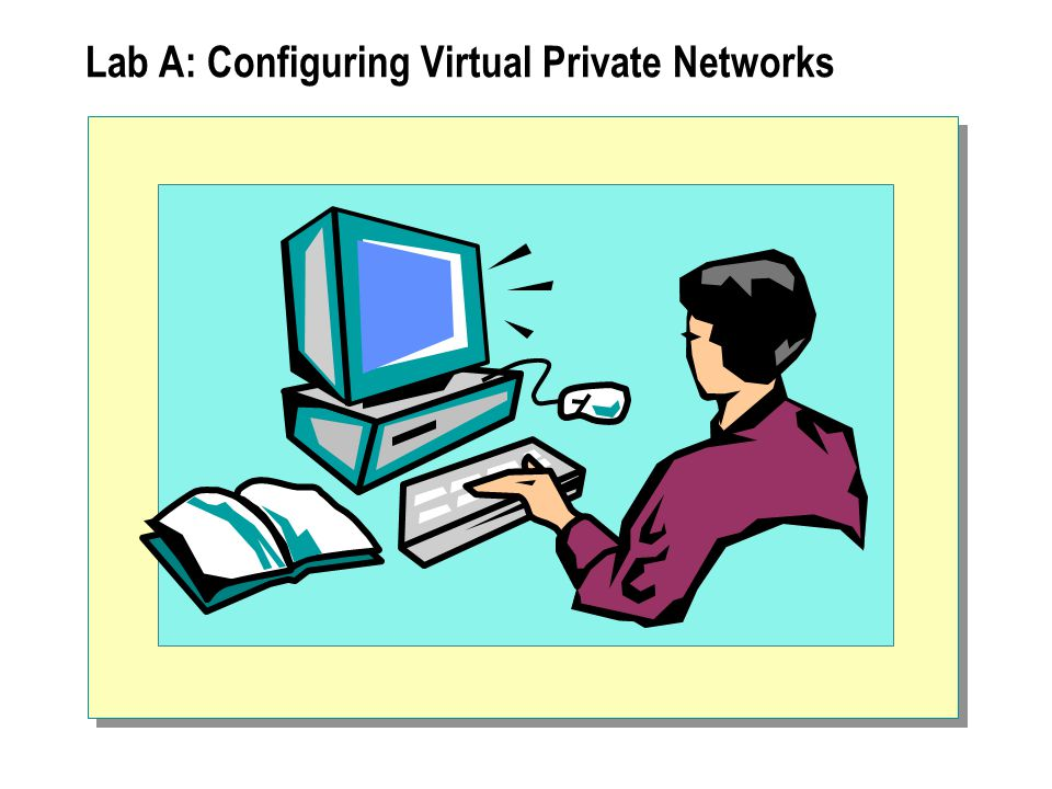 Lab A: Configuring Virtual Private Networks