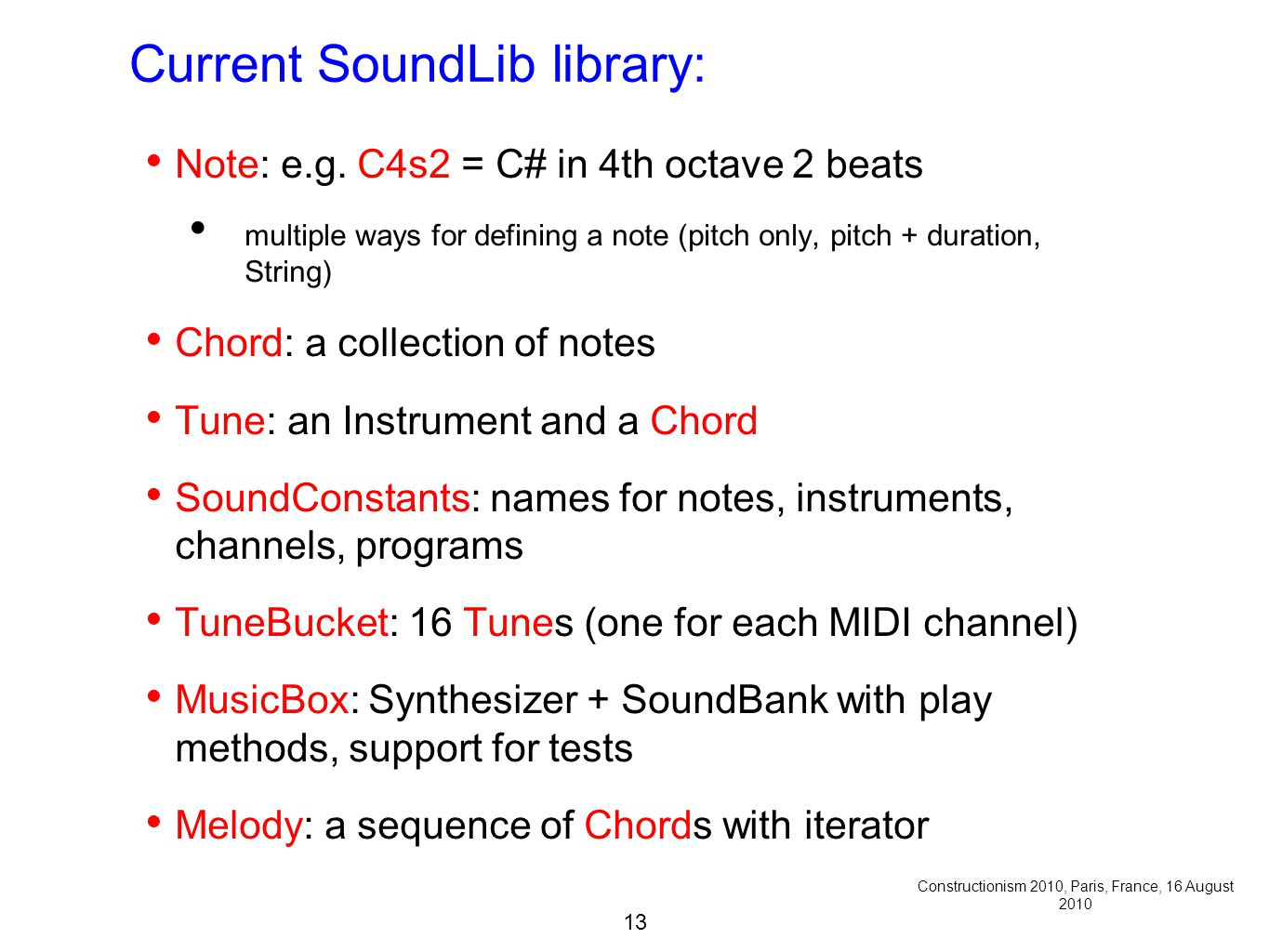 1 Music in Introductory Object Oriented Programming Viera K  Proulx