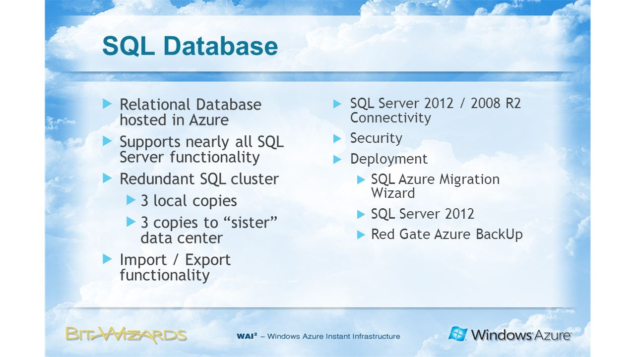 Deployment Options for Kentico CMS in Windows Azure  - ppt download