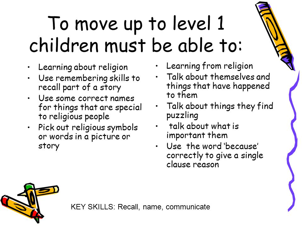 Level Ladder For Re Some Suggestions For Assessment Using The Eight