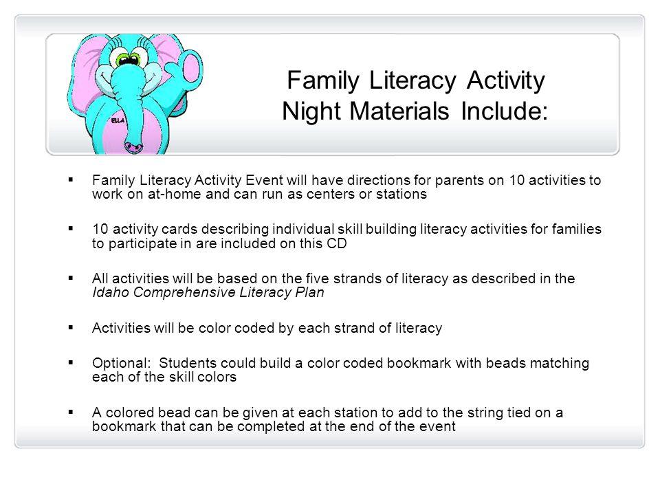 Intervention Plan For Kindergarten Students Ella Early Literacy