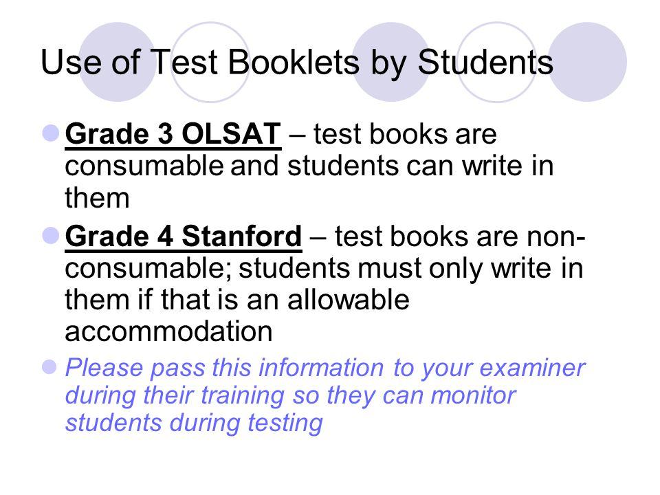 Fall Stc Training Stanford Achievement Testing Otis Lennon Ability