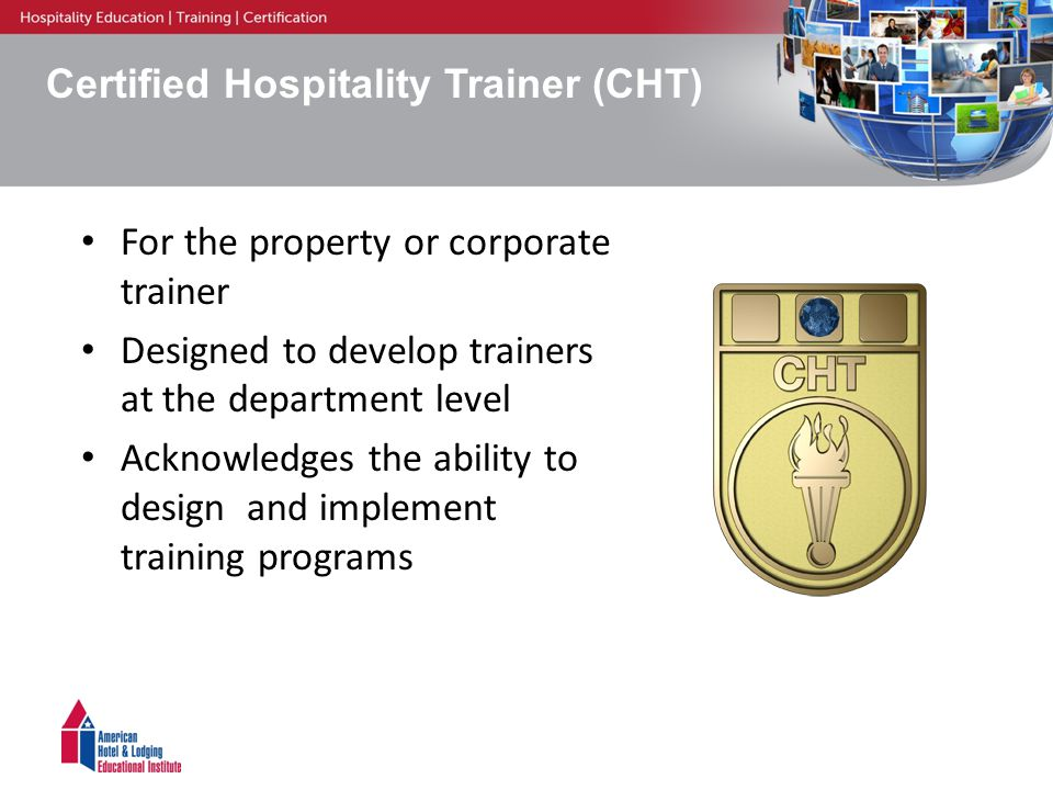 Hospitality Professional Certification For You American Hotel