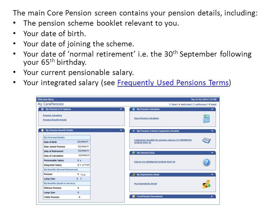 pension portal