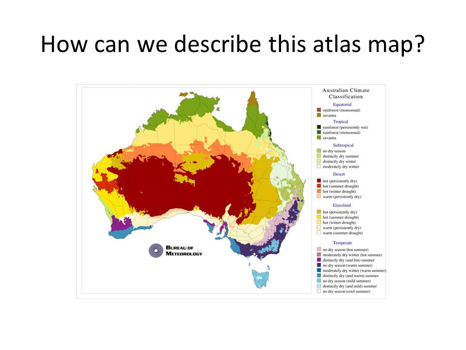 How can we describe this atlas map