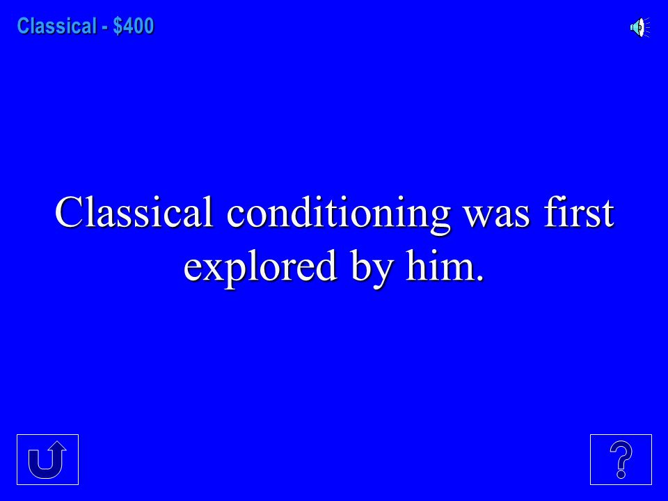 Classical - $300 The reappearance of an extinguished conditioned response.