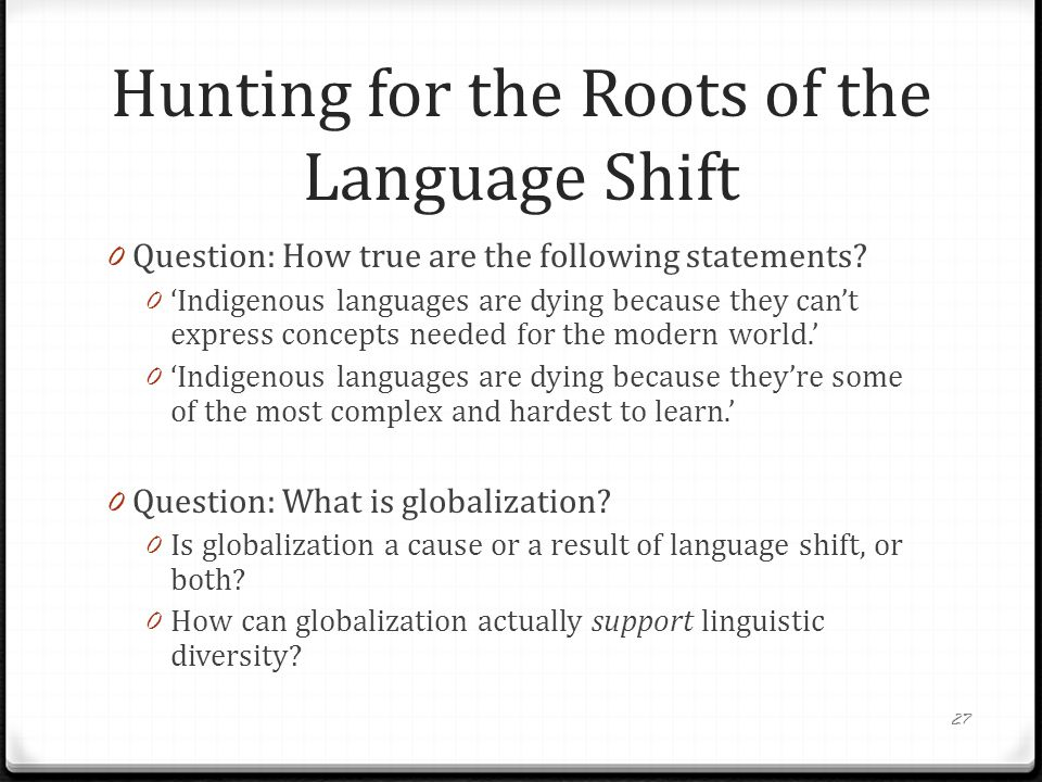 The Politically Incorrect Guide To Language Death Daniel W Hieber