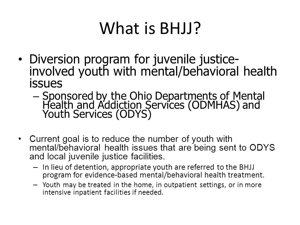 Childhood Violence Exposure And The Behavioral Health Juvenile
