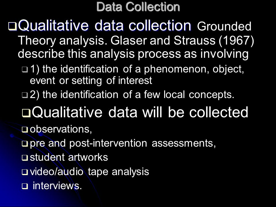 qualitative data collection continues until saturation is met describe 7qualitative data collection continues until saturation of the data is met describe the concept of saturation, and, using a qualitative study, give examples of how the author describes the concept 8qualitative data has been described as voluminous and sometimes overwhelming to the researcher.
