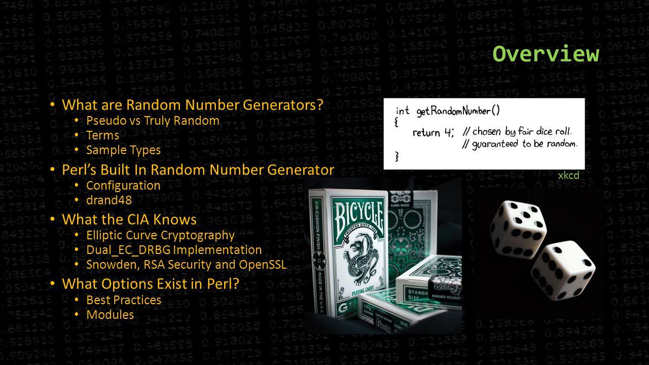 pseudo random number generator elliptic curve