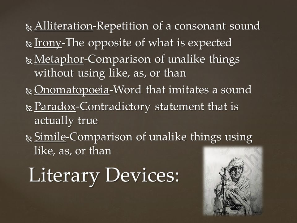 8 Alliteration Repetition Of A