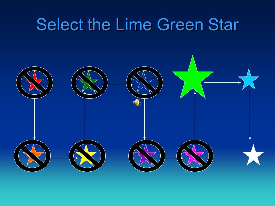 Select the Pink Star