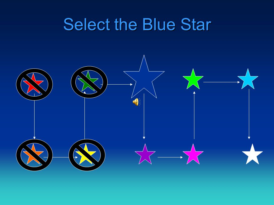 Select the Green Star