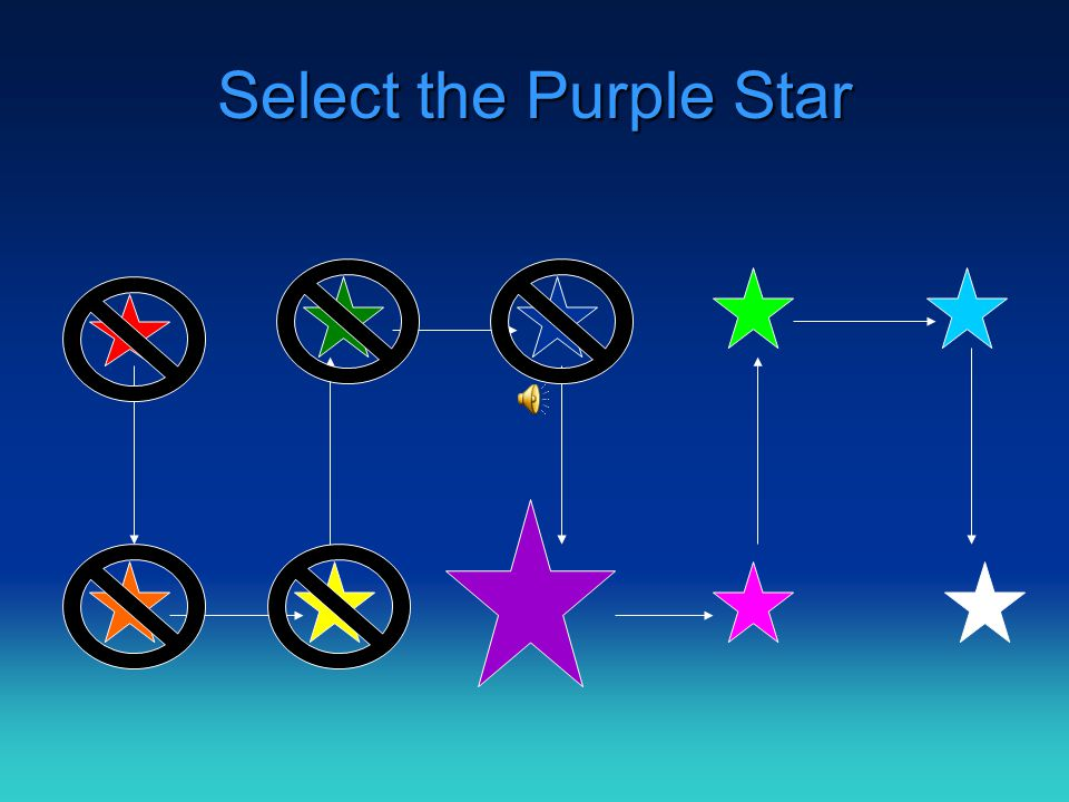 Select the Blue Star