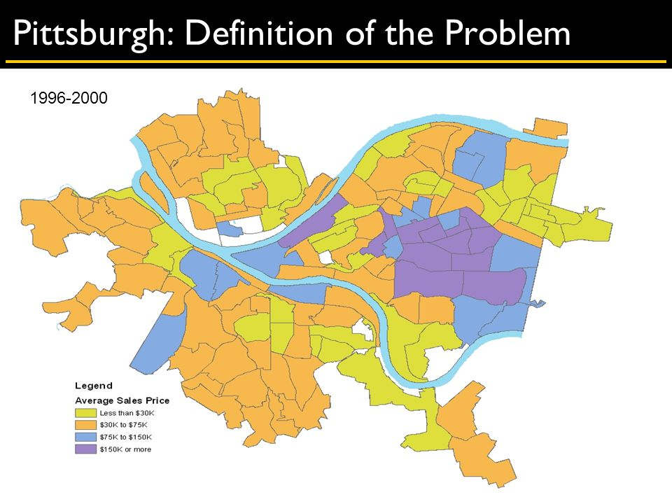 Pittsburgh: Definition of the Problem