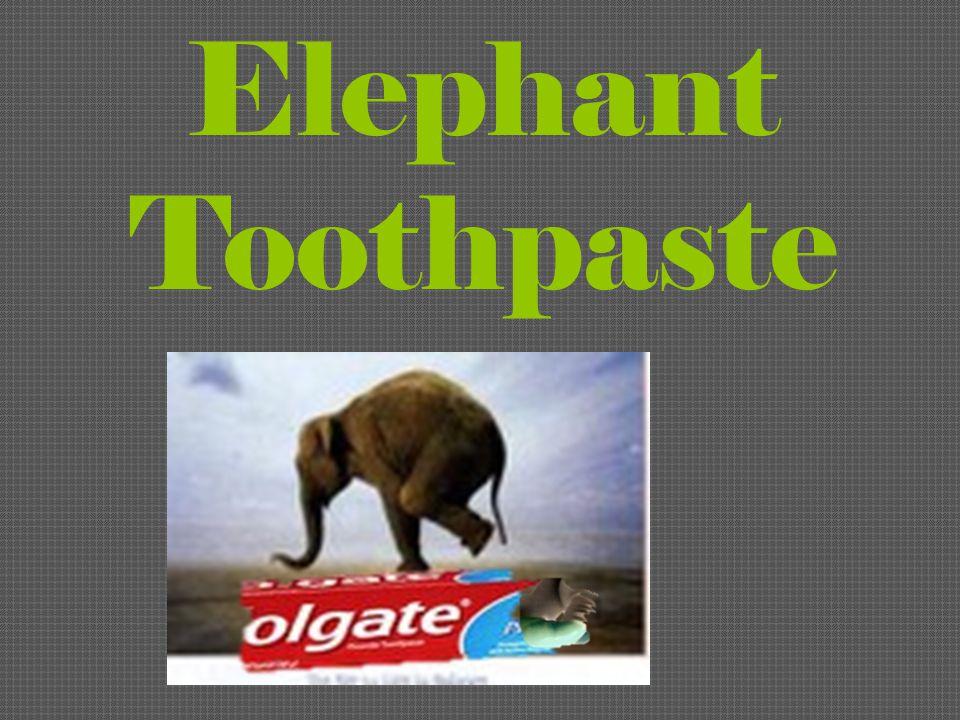 1 Elephant Toothpaste