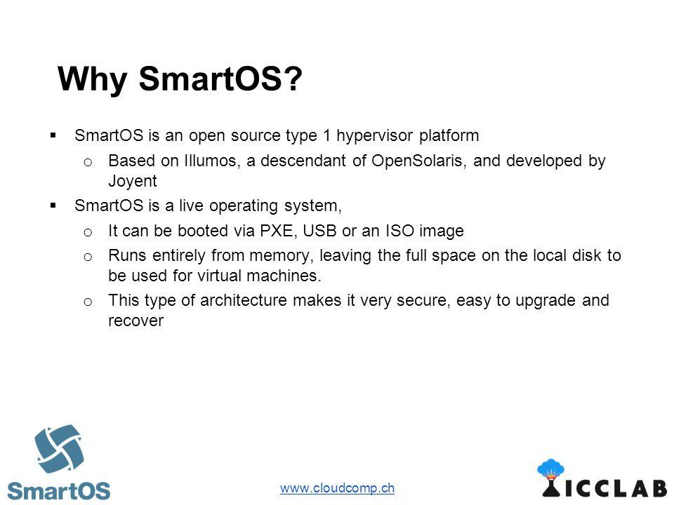 OpenStack on SmartOS Daniele Stroppa, ZHAW , Bern 3rd Swiss