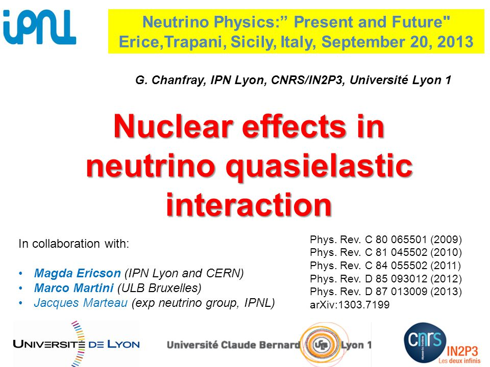 Nuclear effects in neutrino quasielastic interaction Phys.