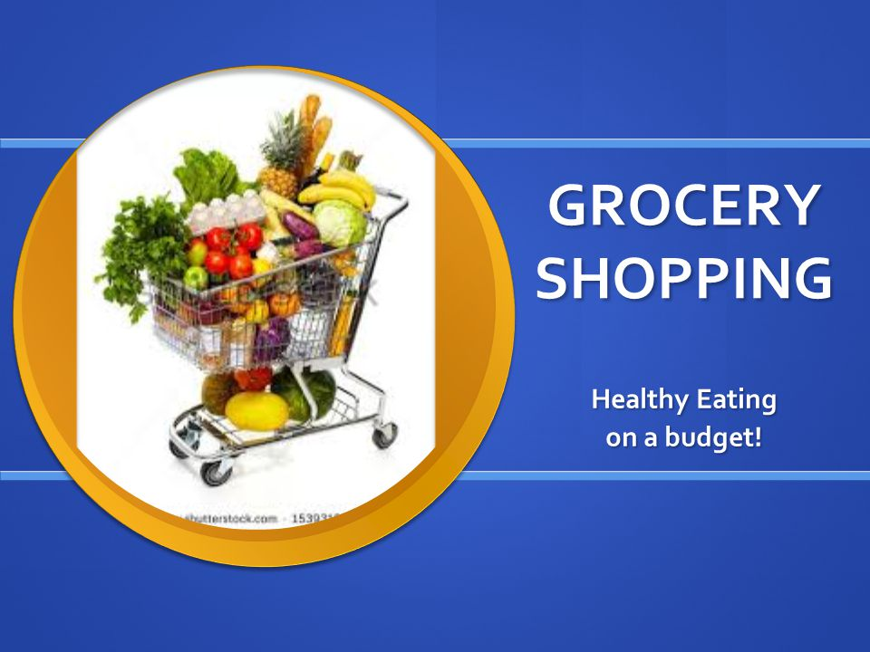 Grocery Shopping Healthy Eating On A Budget Make Half Your Plate