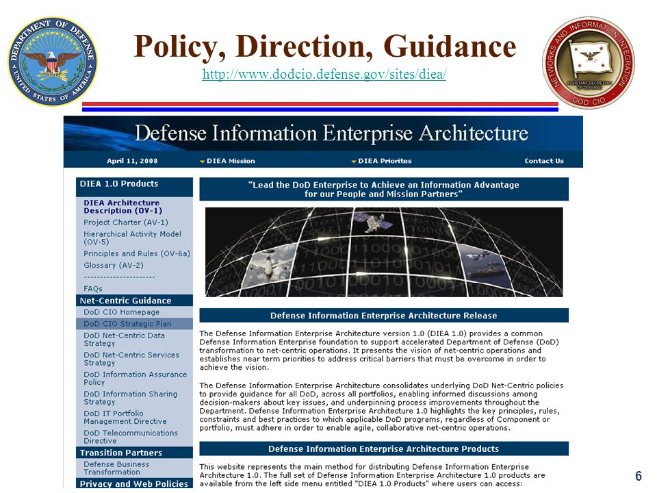 Policy, Direction, Guidance     6