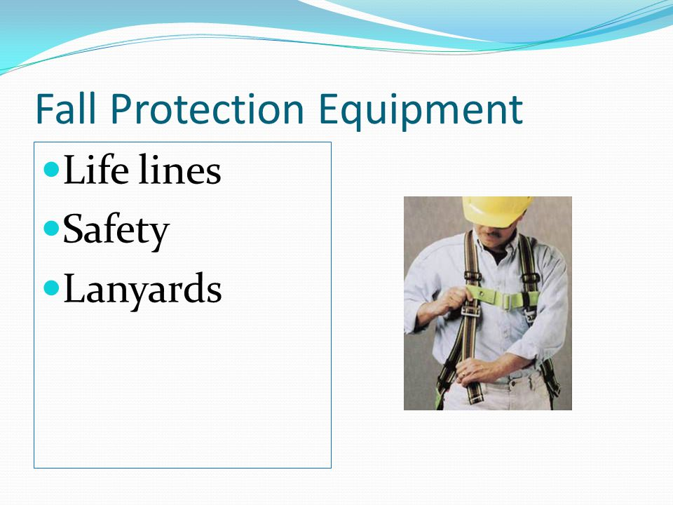 Fall Protection Equipment Life lines Safety Lanyards