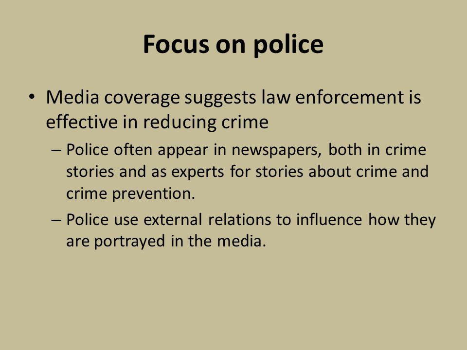 media influence on criminal justice