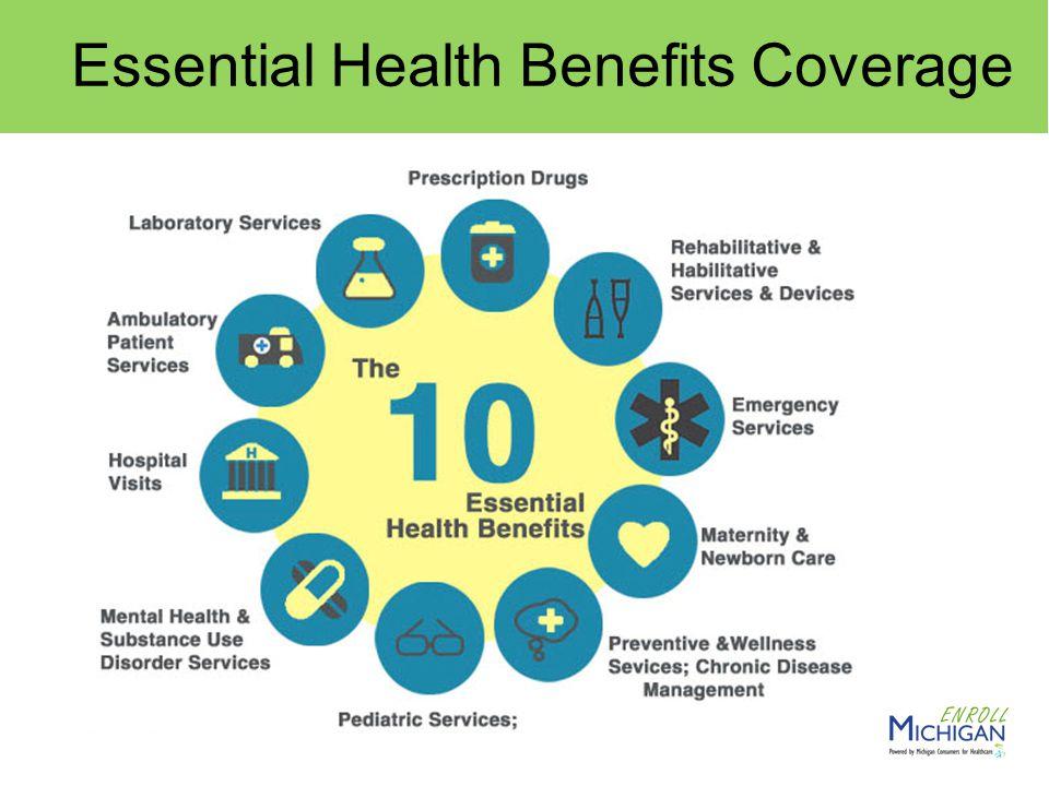 4 Essential Health Benefits Coverage