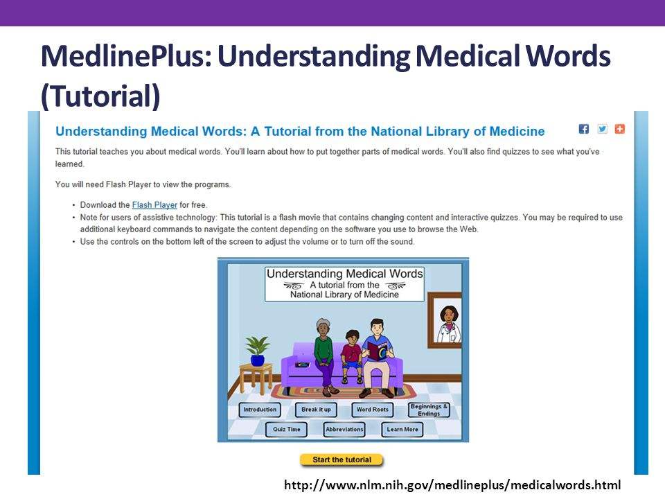 Medlineplus and affordable care act resources lydia n. Collins.