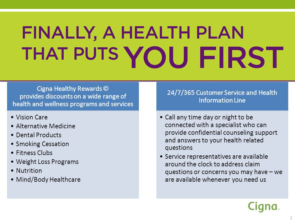 Cigna Individual And Family Plans The Marketplace Ppt Download