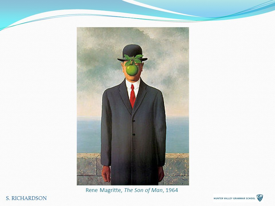 Rene Magritte, The Son of Man, 1964 S. RICHARDSON