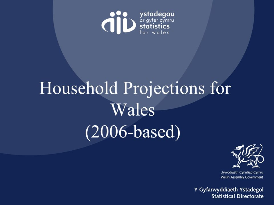 Household Projections for Wales (2006-based)