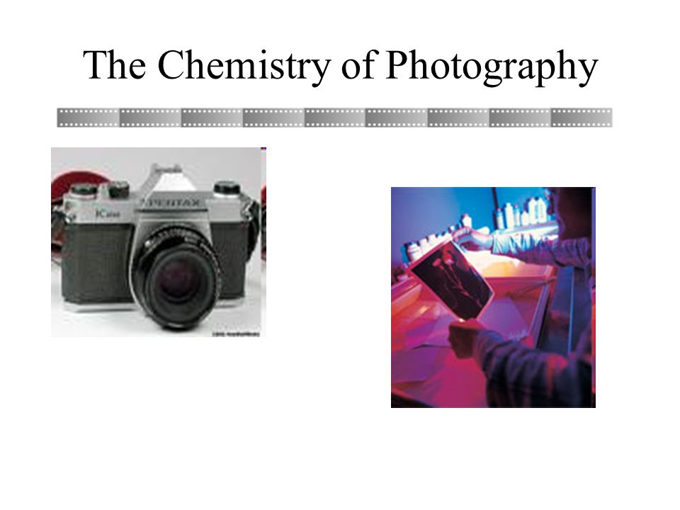 1 the chemistry of photography the chemistry of photography 2 black white film