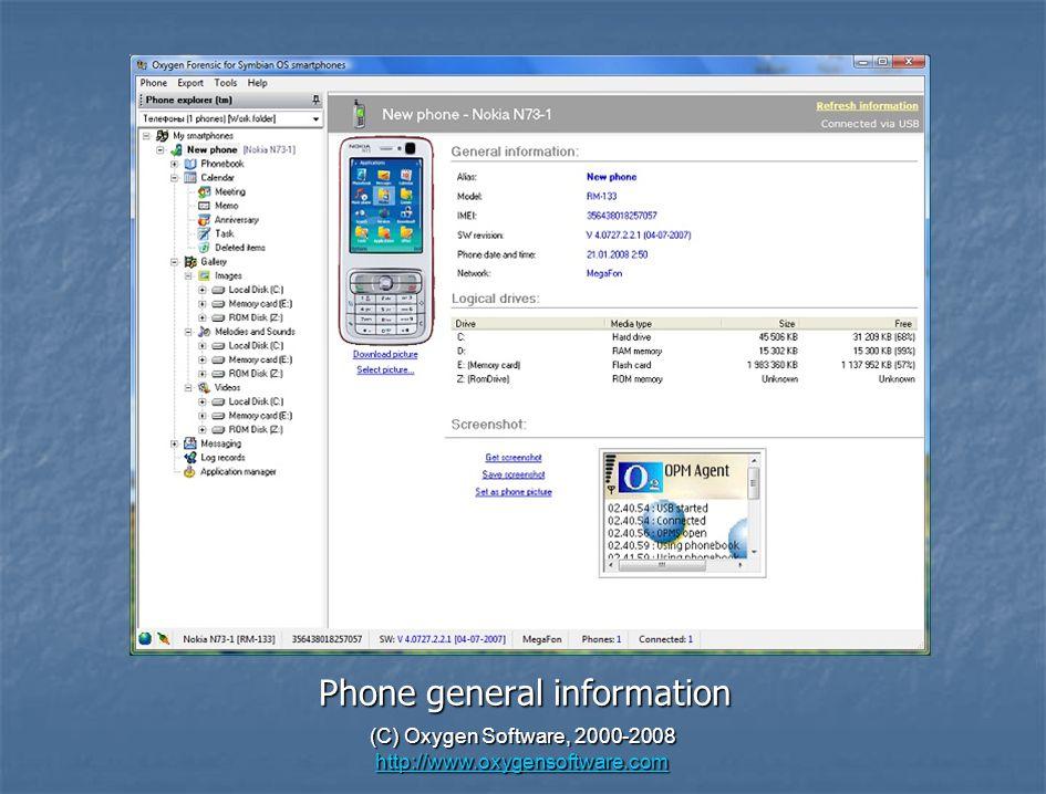 C) Oxygen Software, Oxygen Forensic Suite – Premium Mobile