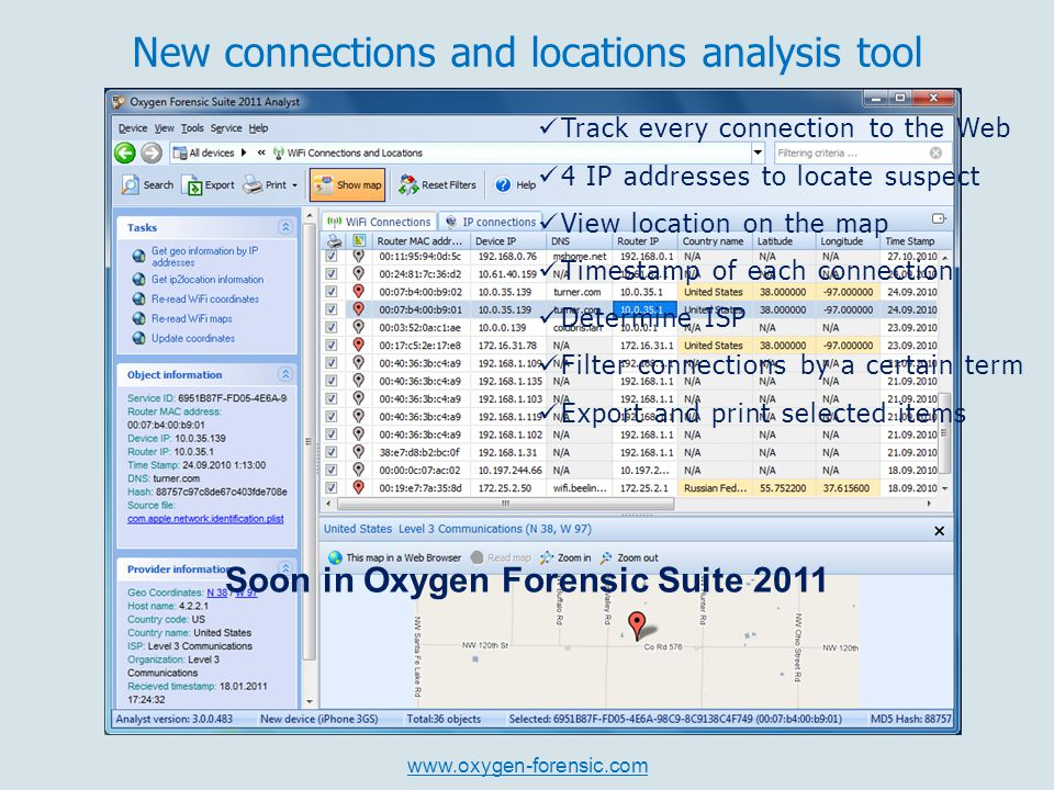 oxygen forensic suite 2011