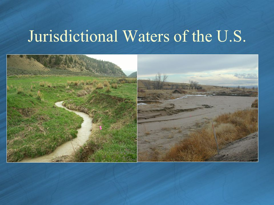 Jurisdictional Waters of the U.S.