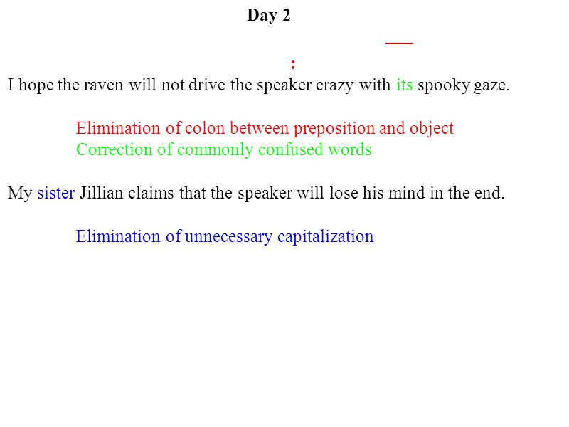Day 2 : I hope the raven will not drive the speaker crazy with its spooky gaze.